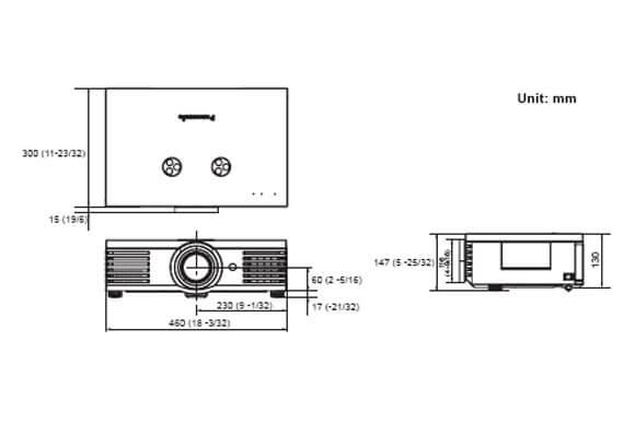 Projektor Panasonic PT-AE4000